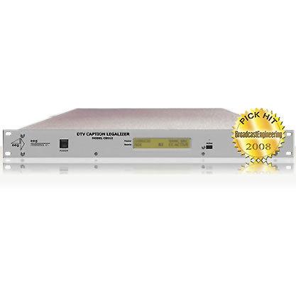 CB512: HD Caption Legalizer/Relocating Bridge™