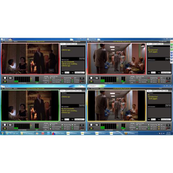 ArgoNavis Quad SDI Multi-Viewer
