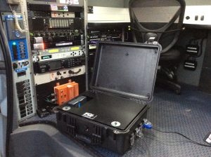 Custom Fiber Tx Case for WFMY